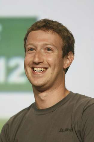 Mark Zuckerberg is donating Facebook shares to a Silicon Valley foundation. Photo: Kimihiro Hoshino, AFP/Getty Images
