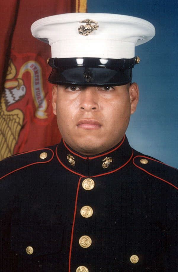 "Sgt. Rafael Peralta, killed in Iraq, has been described by his comrades as ""a Marine's Marine."" Photo: Courtesy, U.S. Marines / AP2006"