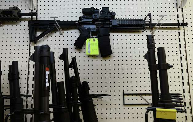 Banning assault rifles will not accomplish as much as proponents claim. Other rifles that were not banned under the previous prohibituion  look less fearsome but have the same capabilities. Photo: Chuck Liddy, McClatchy-Tribune News Service / Raleigh News & Observer