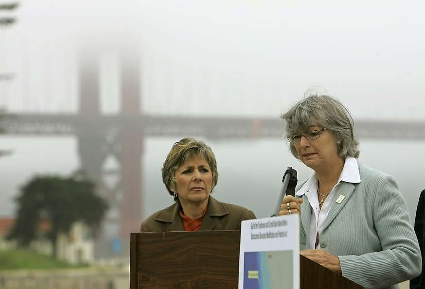Sen. Barbara Boxer, D-Calif. (left), and Rep. Lynn Woolsey, D-Petaluma, co-sponsored a bill to prote