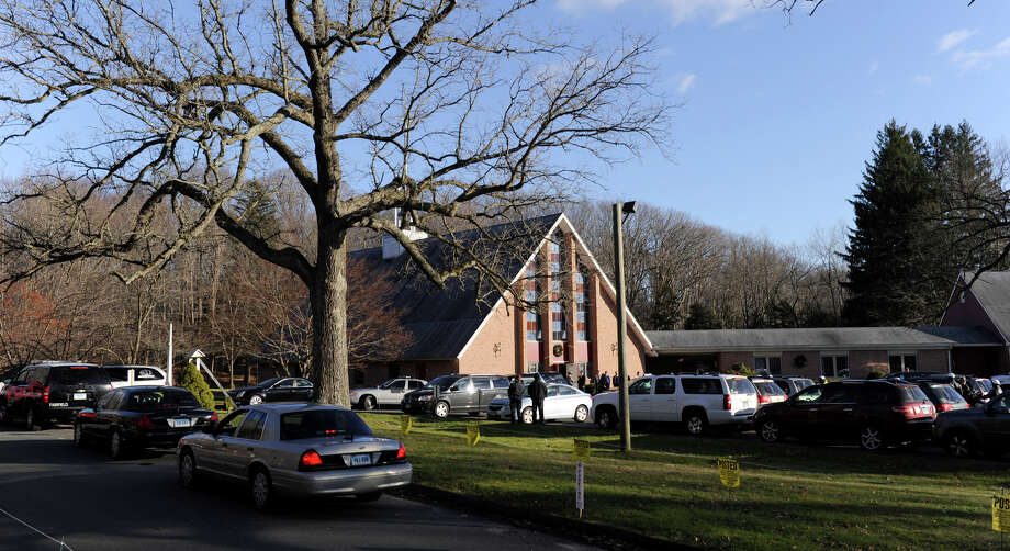 The funeral for Charlotte Bacon was held at Christ the King Lutheran Church in Newtown, Conn. Wednesday, Dec. 19, 2012. Charlotte was one of 26 children and educators at the Sandy Hook Elementary School killed by lone gunman, Adam Lanza on Friday. Photo: Carol Kaliff / The News-Times