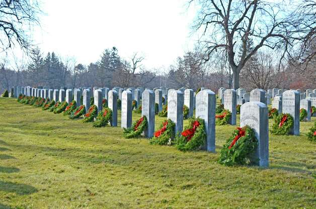 Veterans Cemetery after the Wreaths Across America ceremony on Dec. 15, 2012, in Darien, Conn. Photo: Jeanna Petersen Shepard