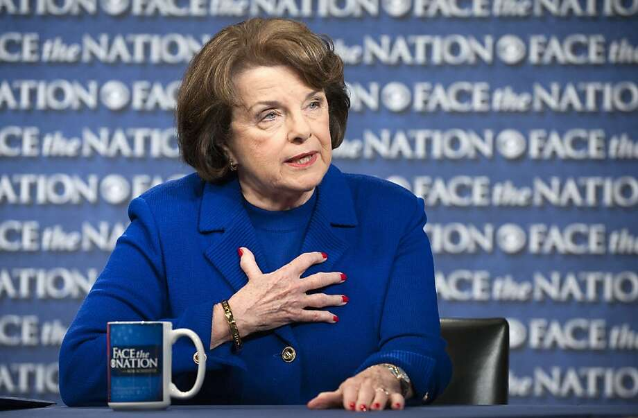 Sen. Dianne Feinstein Photo: Handout, Getty Images