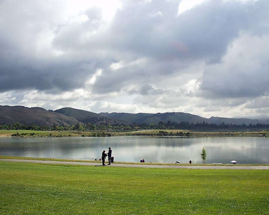 Trout will be planted five times in December at Quarry Lakes in Fremont, just one unit in the East Bay Regional Parks District that will be restocked to improve fishing opportunities. Photo: East Bay Regional Parks District