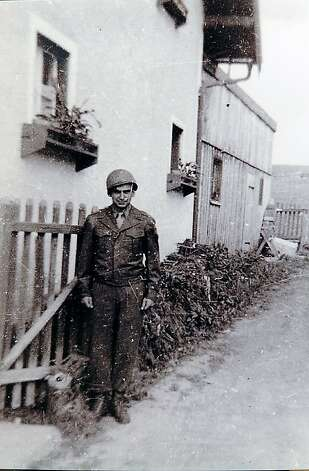 James in the Rhine region of Germany during WW2. Photo: Courtesy Of Kale Alderson