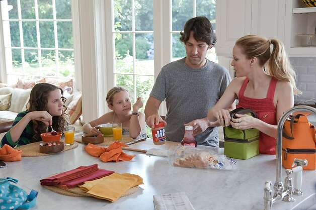 "Paul Rudd and Leslie Mann star in ""This Is 40."" Photo: Suzanne Hanover, Universal Pictures"