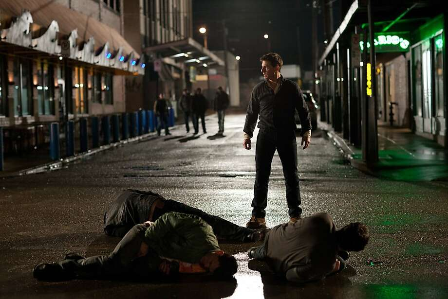 """""""Jack Reacher"""" includes chilling scenes, all under the usual PG-13 rating. Photo: Karen Ballard, Paramount Pictures"""
