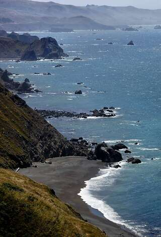 The rocky Sonoma County shoreline would be protected under the expanded Gulf of the Farallones marine sanctuary. Photo: Michael Macor, The Chronicle