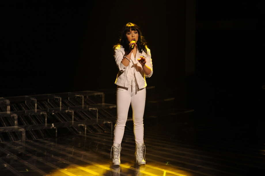 THE X FACTOR:  Jennel Garcia performs on THE X FACTOR, Wednesday, Dec. 19 (8:00-9:00PM ET/PT) on FOX.  CR: Frank Micelotta / FOX.