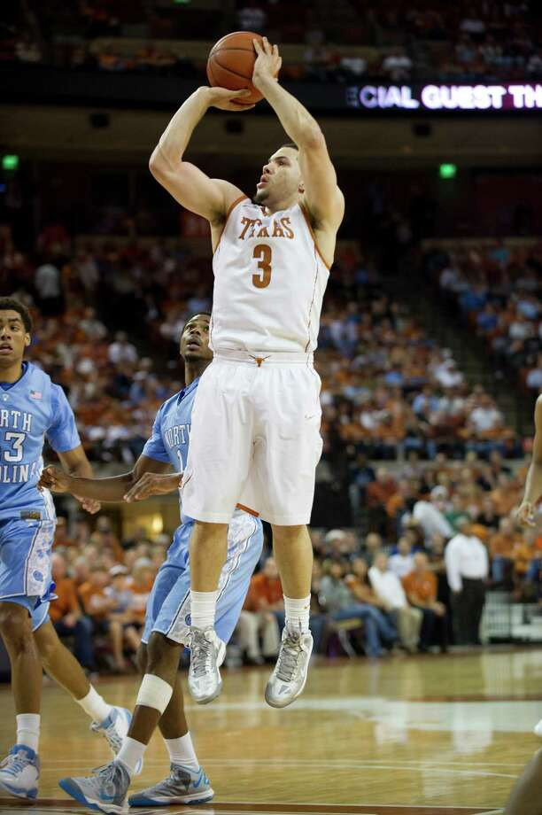 Javan Felix #3 of the University of Texas Longhorns shoots the ball against the University of North Carolina Tar Heels on December 19, 2012 at the Frank Erwin Center in Austin. Photo: Cooper Neill, Getty Images / 2012 Getty Images