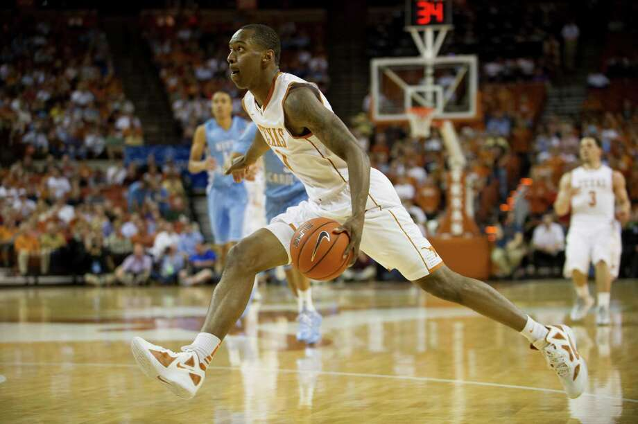 Sheldon McClellan #1 of the University of Texas Longhorns drives to the basket against the University of North Carolina Tar Heels on December 19, 2012 at the Frank Erwin Center in Austin. Photo: Cooper Neill, Getty Images / 2012 Getty Images