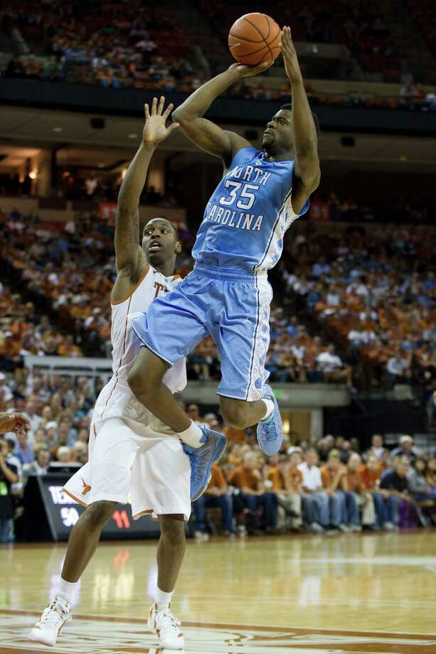 Reggie Bullock #35 of the University of North Carolina Tar Heels shoots the ball against the University of Texas Longhorns on December 19, 2012 at the Frank Erwin Center in Austin. Photo: Cooper Neill, Getty Images / 2012 Getty Images