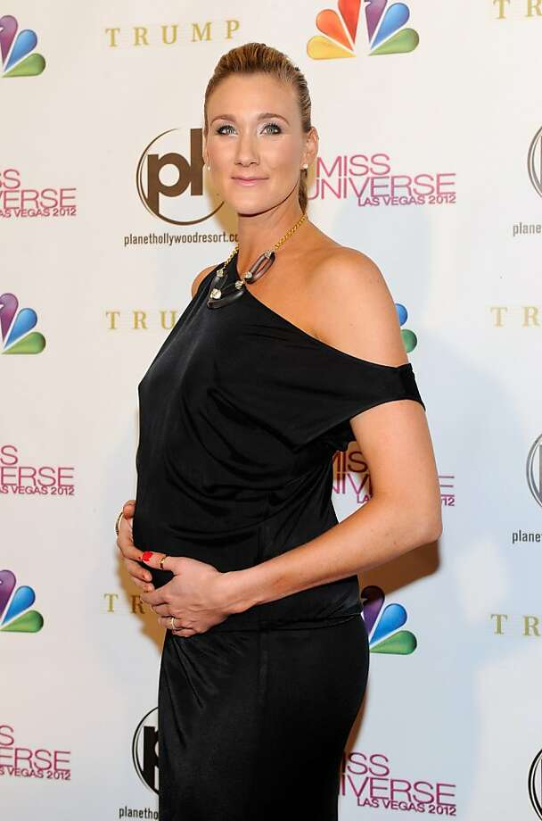 LAS VEGAS, NV - DECEMBER 19:  Professional beach volleyball player and pageant judge Kerri Walsh Jennings arrives at the 2012 Miss Universe Pageant at Planet Hollywood Resort & Casino on December 19, 2012 in Las Vegas, Nevada.  (Photo by David Becker/Getty Images) Photo: David Becker, Getty Images