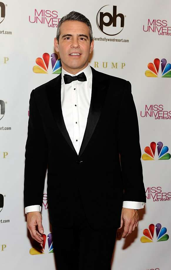 LAS VEGAS, NV - DECEMBER 19:  Television personality and pageant co-host Andy Cohen arrives at the 2012 Miss Universe Pageant at Planet Hollywood Resort & Casino on December 19, 2012 in Las Vegas, Nevada.  (Photo by David Becker/Getty Images) Photo: David Becker, Getty Images