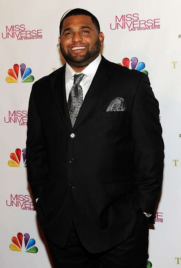 LAS VEGAS, NV - DECEMBER 19:  Major League Baseball player and pageant judge Pablo Sandoval of the San Francisco Giants arrives at the 2012 Miss Universe Pageant at Planet Hollywood Resort & Casino on December 19, 2012 in Las Vegas, Nevada.  (Photo by David Becker/Getty Images) Photo: David Becker, Getty Images
