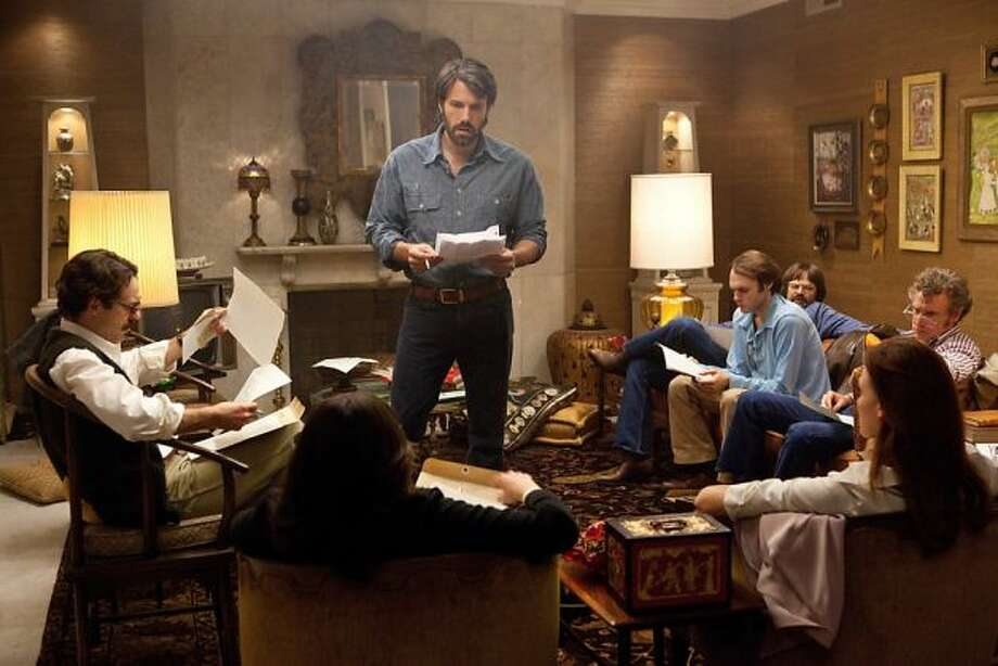 Argo -- Ben Affleck's thriller about the 1980 escape of Americans from Iran is in the running for best picture.