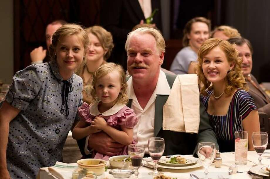 Philip Seymour Hoffman won best supporting actor, for his charismatic 