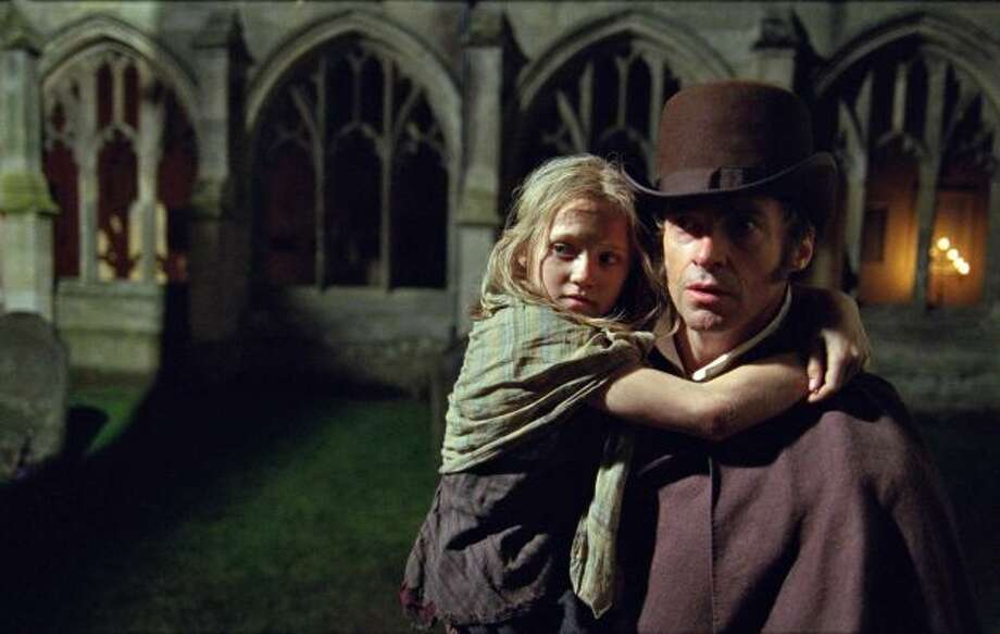 Les Miserables -- being talked up as a possible best picture.  Can't imagine the reasoning there.