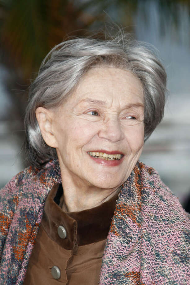 Emmanuelle Riva in AMOUR -- about an active woman in her eighties suddenly suffering from dementia.  A movie made all the more poignant by the fact that most of us know Riva only as a young woman, in HIROSHIMA MON AMOUR.