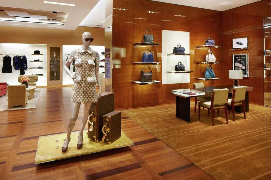 slug: The Louis Vuitton store in the Galleria. Photo: Louis Vuitton