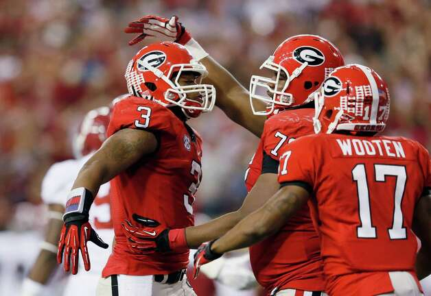 5. Georgia Bulldogs 