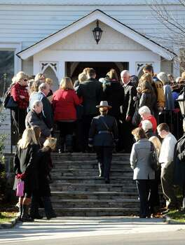 The funeral for Sandy Hook Elementary School Special Education teacher Anne Marie Murphy at St. Mary of the Assumption Roman Catholic Church in Katonah, NY, on Thursday, December 20, 2012. Photo: Lindsay Niegelberg, Niegelberg / Stamford Advocate