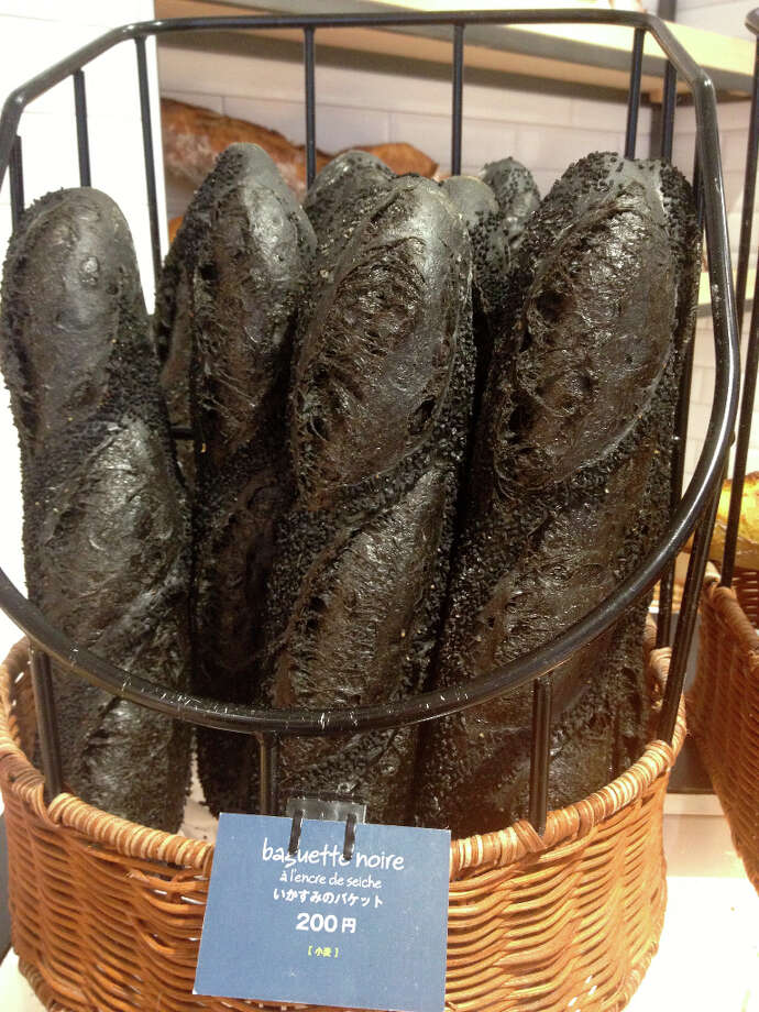 Cosentino: This is the perfect example of something Ilearned when I was there. The black bread. It's a patisserie from a pastry chef from France. Young guy, really smart ... It's a perfect example ofseeing something in Japan, learning it, thinking, how do I drawinspiration or technique from that?