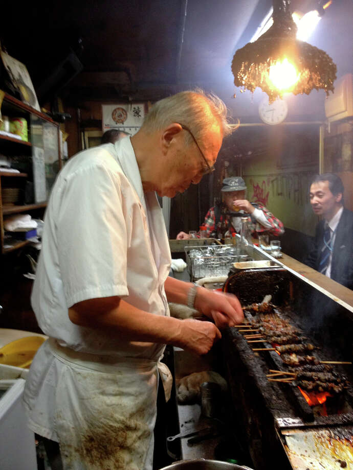 Cosentino: This is the eel restaurant that is 78 years old. He cooks eel...