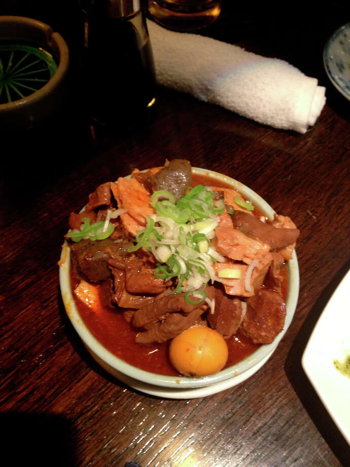 Mostunabe at the restaurant run by Sho Kamio's brother, Jiro.