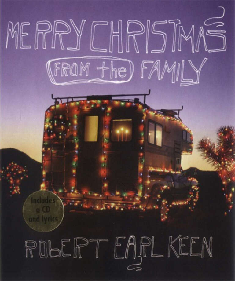 """cover for the book """"Merry Christmas From the Family"""" by Robert Earl Keen Photo: University Of Texas Press"""