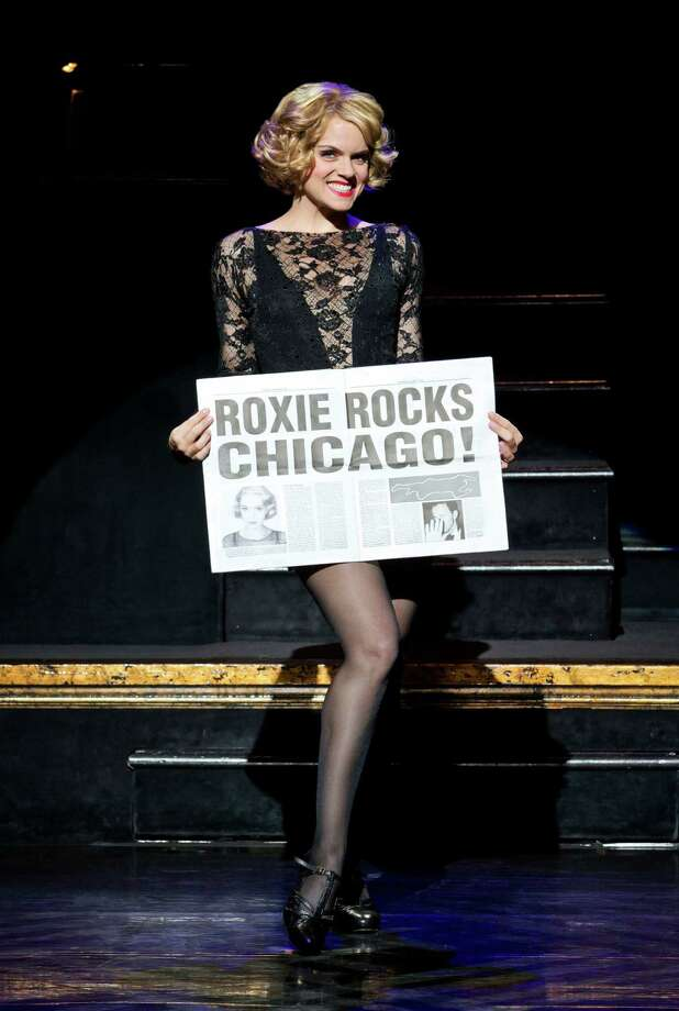 "In this undated publicity photo provided by The Publicity Office, Amy Spanger will star as Roxie Hart when the Broadway musical hit ""CHICAGO"" plays its record-breaking 6,681st performance at the Ambassador Theatre on Thursday, Dec. 20, 2012, in New York. (AP Photo/The Publicity Office, Jeremy Daniel) Photo: Jeremy Daniel"