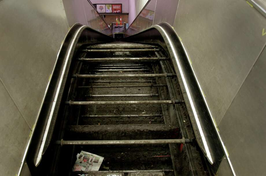It was the story that readers couldn't stop talking about — and may never forget. In July, Chronicle reporter Will Kane told us the messy truth behind why the BART station escalators are so often out of service. We probably don't need to remind you ... but the answer is human poop. Photo: Brant Ward, The Chronicle / SFC