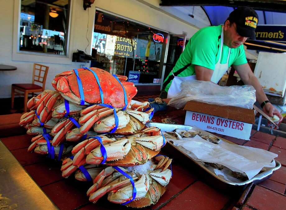 In March, thieves stole 444 pounds of fresh halibut, flounder, crab and sand sole from Morningstar Fisheries on Johnson Pier in Half Moon Bay. The fishy haul was worth over $2,000, and the plunderers were never found. Photo: Brant Ward, The Chronicle / ONLINE_YES