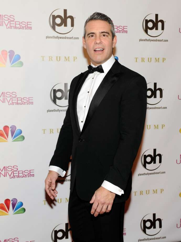 Television personality and pageant co-host Andy Cohen arrives at the 2012 Miss Universe Pageant at Planet Hollywood Resort & Casino on December 19, 2012 in Las Vegas, Nevada.  (Photo by David Becker/Getty Images) (Getty Images)
