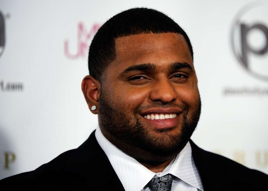 Major League Baseball player and pageant judge Pablo Sandoval of the San Francisco Giants arrives at the 2012 Miss Universe Pageant at Planet Hollywood Resort & Casino on December 19, 2012 in Las Vegas, Nevada.  (Photo by David Becker/Getty Images) (Getty Images)