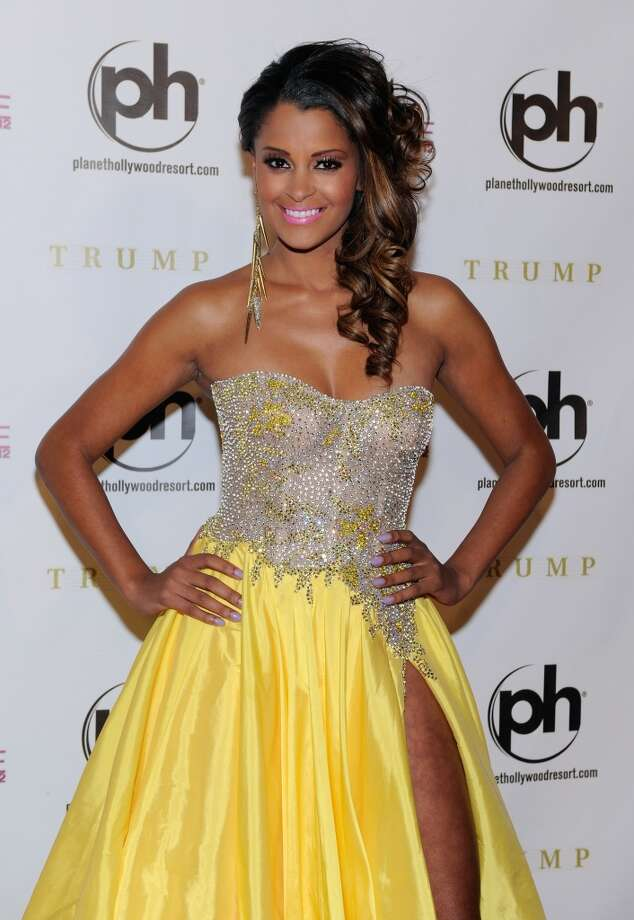 Television and radio personality and pageant judge Claudia Jordan arrives at the 2012 Miss Universe Pageant at Planet Hollywood Resort & Casino on December 19, 2012 in Las Vegas, Nevada.  (Photo by David Becker/Getty Images) (Getty Images)