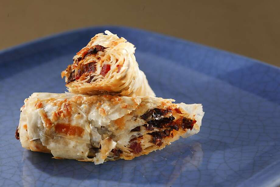 Sun-Dried Tomato Bacon Roll-Ups Photo: Craig Lee, Special To The Chronicle