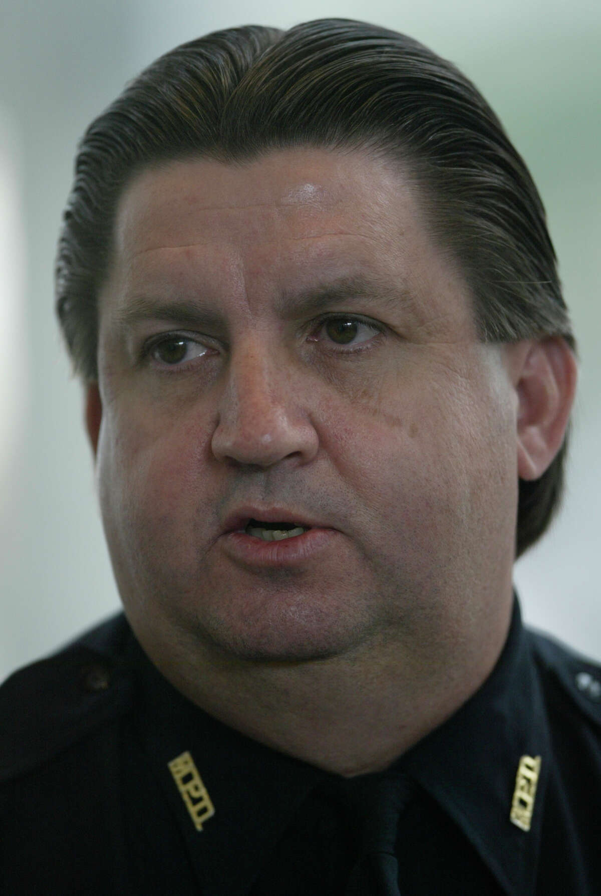 Tom Lambert, shown in a 2005 photo when he was Metro police chief, will be interim CEO of the transit agency.