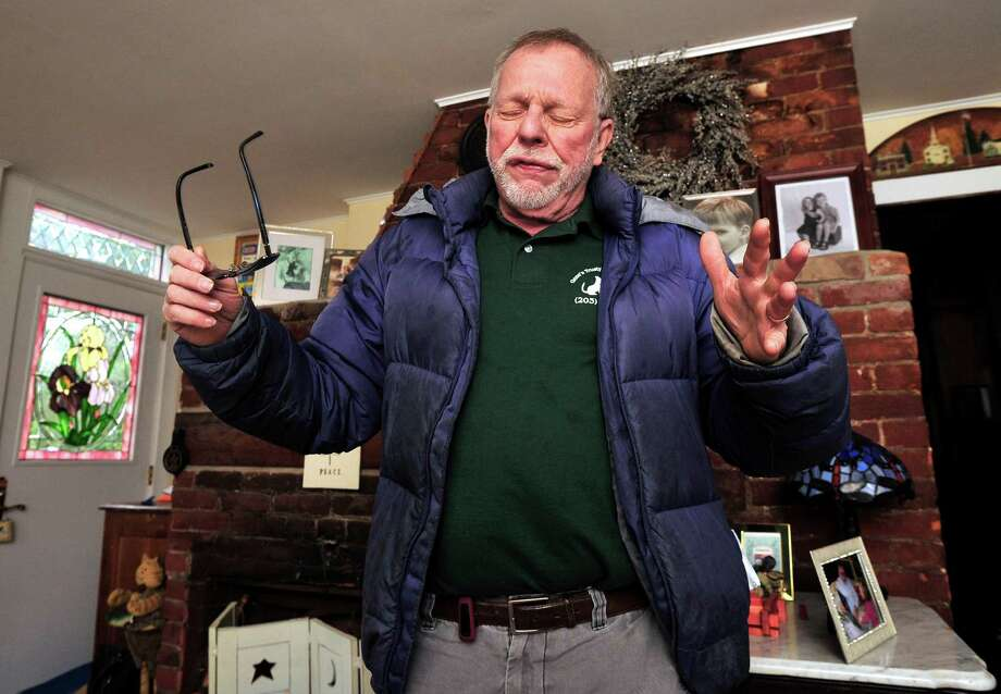 Gene Rosen describes six children from neighboring Sandy Hook Elementary School he took into his Newtown home last Friday. Photographed Thursday, Dec. 20, 2012. Photo: Michael Duffy / The News-Times
