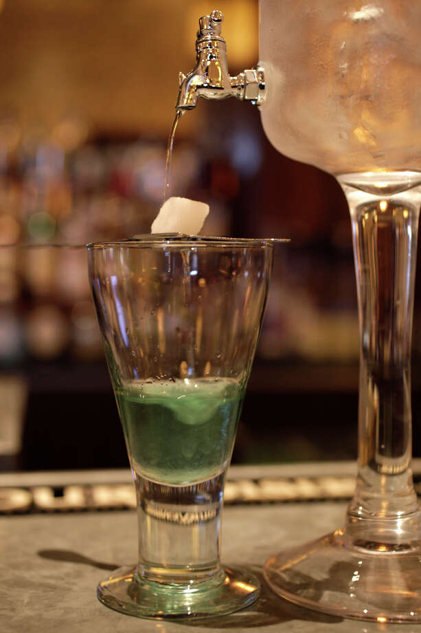 No need to fear absinthe now. Photo: File Photo, San Antonio Express-News / glara@express-news.net