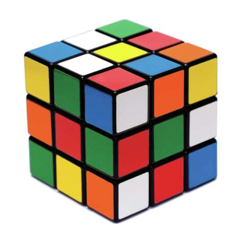 Rubik's Cube came in second.