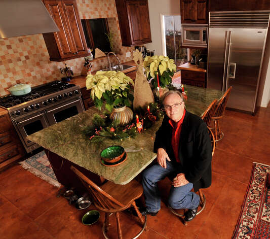 Randy Rodgers in his remodeled kitchen. Photo: Robin Jerstad/For The Express-Ne