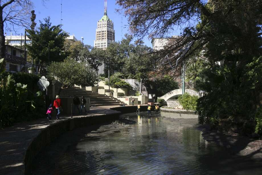 Skinny-dip in the San Antonio River. (SAN ANTONIO EXPRESS-NEWS)