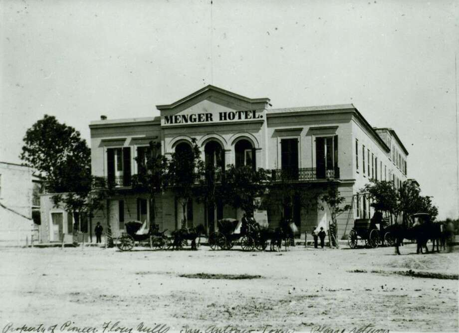 Party with the ghosts at the Menger Hotel. (COURTESY PHOTO)