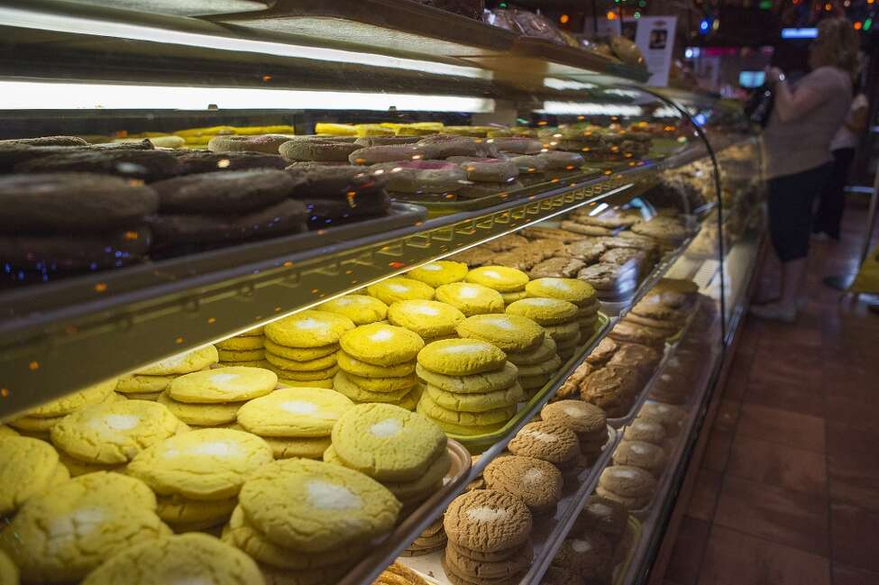 Go back to Mi Tierra's and eat your way through the pan dulce.