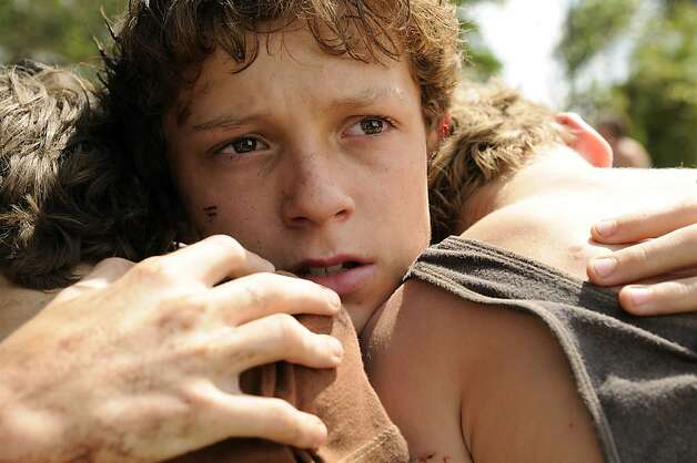 "Tom Holland stars in ""The Impossible."" Photo: Jose Haro, Summit Entertainment"