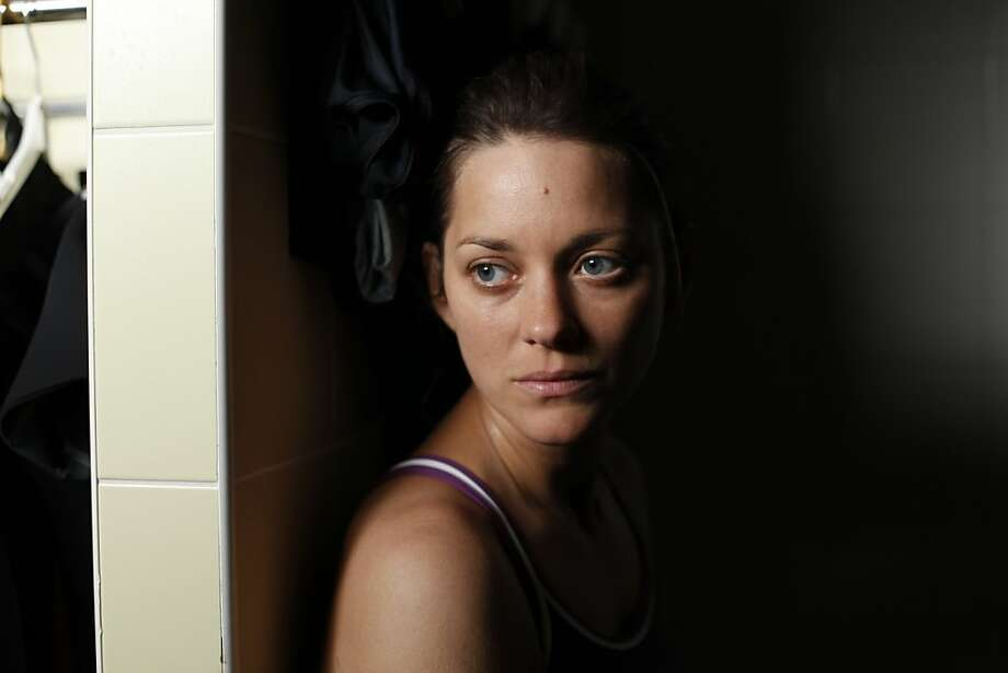 "Marion Cotillard in ""Rust and Bone"": A great French actress from a crowded field. Photo: Uncredited, Associated Press"