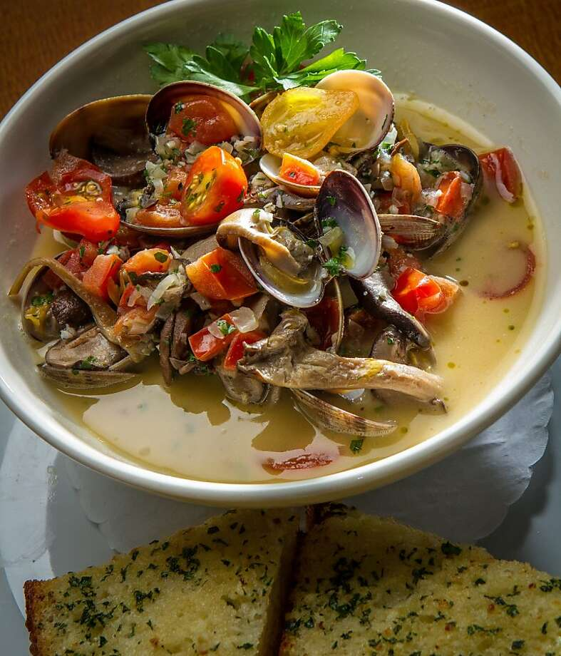 The steamed Clams at the Trident restaurant in Sausalito, Calif. is seen on Saturday, December 15th, 2012. Photo: John Storey, Special To The Chronicle