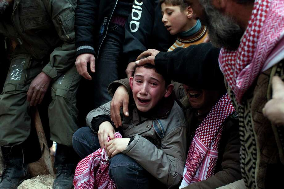7. Syria is wracked by civil war as rebels try to dislodge President Bashar Assad. Photo: Rodrigo Abd, Associated Press / AP