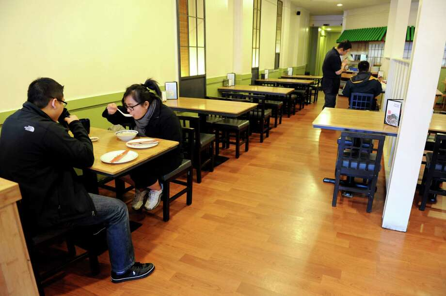 Taiwan Noodle on Saturday, Dec. 15, 2012, in Albany, N.Y. (Cindy Schultz / Times Union) Photo: Cindy Schultz / 00020481A